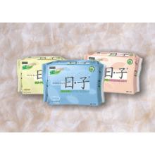 Almofada sanitária plástica que empacota, malote sanitário de toalha