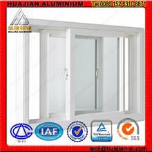 Fenêtres coulissantes en aluminium pour la construction