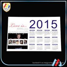 Calendario de papel imán