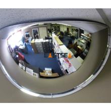 180-Grad-Ansicht Unbreakable Half Dome Convex Mirror aus Polycarbonat