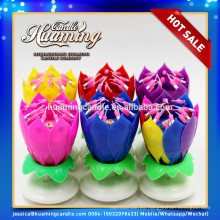 Fábrica de suministro de velas de cumpleaños