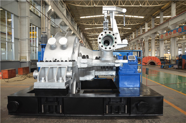 High Speed & High Efficiency Impulse Steam Turbine