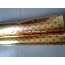 80g 100g 120g argent doré papier en aluminium pour emballage de glace / chocolat