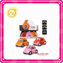 1: 38 Lovely Pull Back Die Cast Car with Light&Music