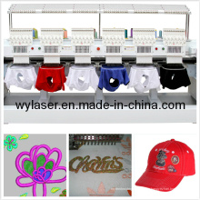 6 cabezas Swf máquina de bordado en Corea máquina de bordado de computadora
