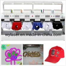 Economia 8 cabeças computadorizada Cap & T-Shirt Fábrica da máquina do bordado com função multi e alta qualidade Wy1208