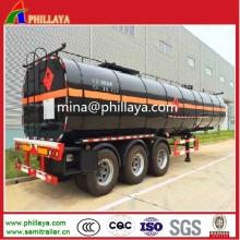 Tri-Axle Tanker Emulsified Cimc Liquid Bitumen Tank Semi Trailer