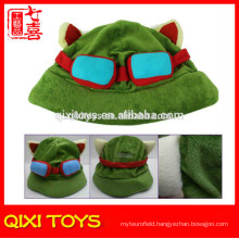 cosplay cap league of legends lol teemo hat plush toy