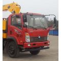 Camion grue SINOTRUCK HOWO 6.3T