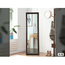 Bedroom decoration wall mirrors with ps frame wholesale