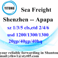 Shenzhen International Express Delivery Services nach Apapa