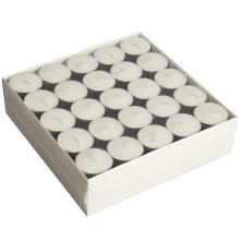 Extended 8hour Burn Tealight Candles White Bezzapachowy