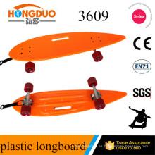 venta al por mayor directa de la fábrica 36 tablero plástico del longboard del patín de la pulgada