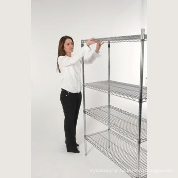 Double Side Adjustable Grocery Store Display Rack Shelf