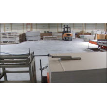 PVC and aluminium foil laminated gypsum ceiling board making machine