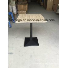 Ss Bevel Edge Square Dining Room Eating Table (FOH-BC46C)