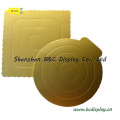Gold Corrugated Cake Board, Embossed Cake Boards, Die Cut Cake Board with SGS (B&C-K030)