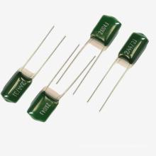 Condensador de película de poliéster de Topmay Tmcf01 Cl11-1 con diverso voltaje