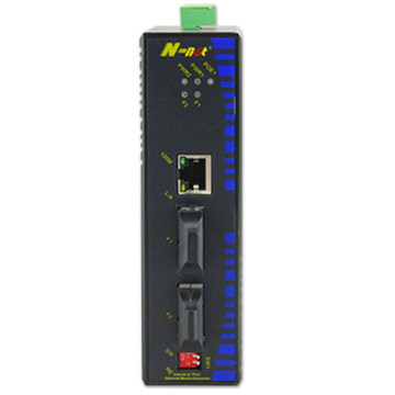 Schneller Ethernet-Switch mit 2 Glasfaserports