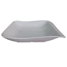 Melamine Salad Plate/Square Dish/Food-Grade Melamine Tableware (WT4130)
