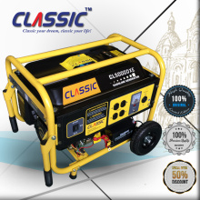 CLASSIC(CHINA) 5KW CE Certificate AC Single Phase 50HZ/60HZ Electric Start Gasoline Generator 13HP