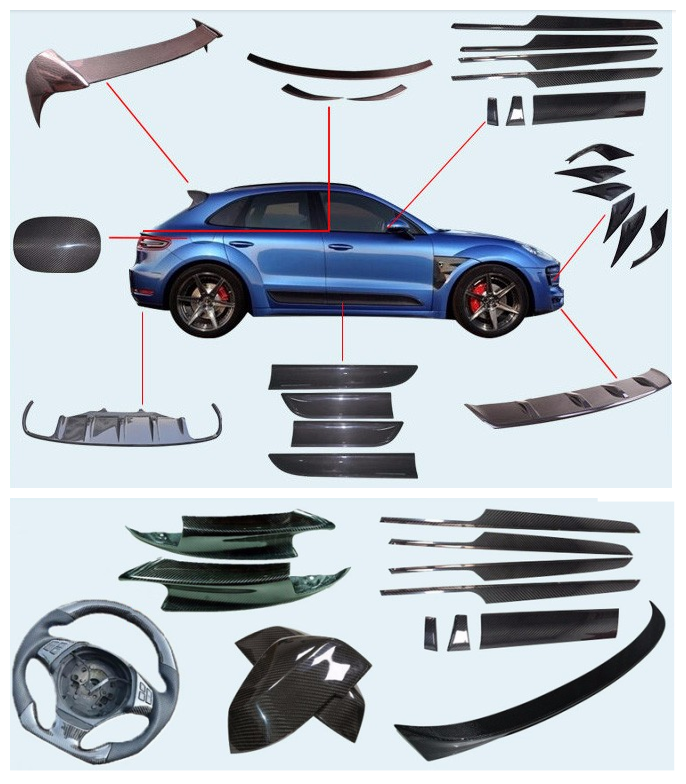 carbon fiber car components 1