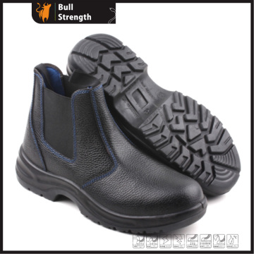 Industry Leather Safety Boots with Cement Rubber Sole (SN5157)