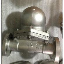 Trampa de vapor de flotador de bola con extremo de brida de acero inoxidable