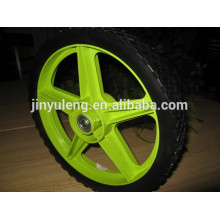 12 inch high quality flat free wheel for kid bike/toy