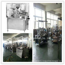 Automatic Plastic Syringe Filling and Plunging Machine