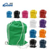 bolsos de nylon promocionales de la mochila del lazo 420d de la impresión para requisitos particulares