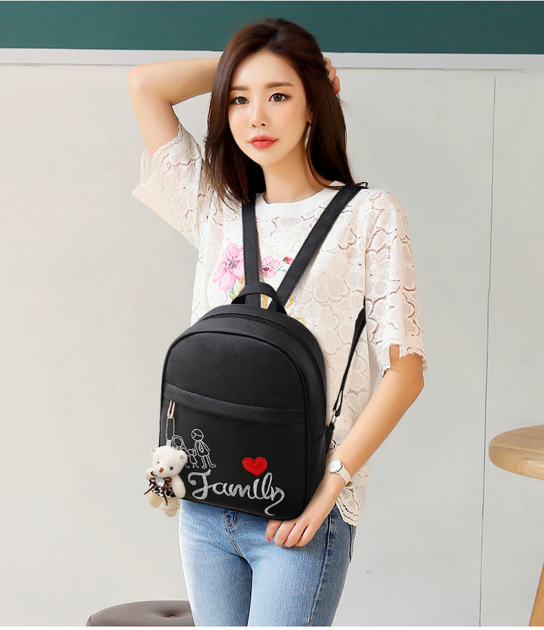 lady double shoulder bags l16601 (12)