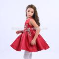 Новая Мода Современных Детей Платья Девушки Цветка Китайский Стиль Вышитые Дизайн Девочка Необычные Платья 2017