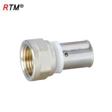B 4 13 alta qualidade tubo feminino acessórios de compressão de tubulação de gás de encaixe de pressão