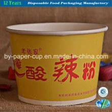 Bols en papier pour nouilles en matériau solide