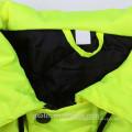 2018 Usine En Gros Étanche Salut Vis Jaune Haute Visibilité Rétro-Securité Parka Workwear Workwear D'hiver Vestes