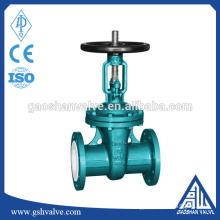 WCB Chemical gate valve with handwheel