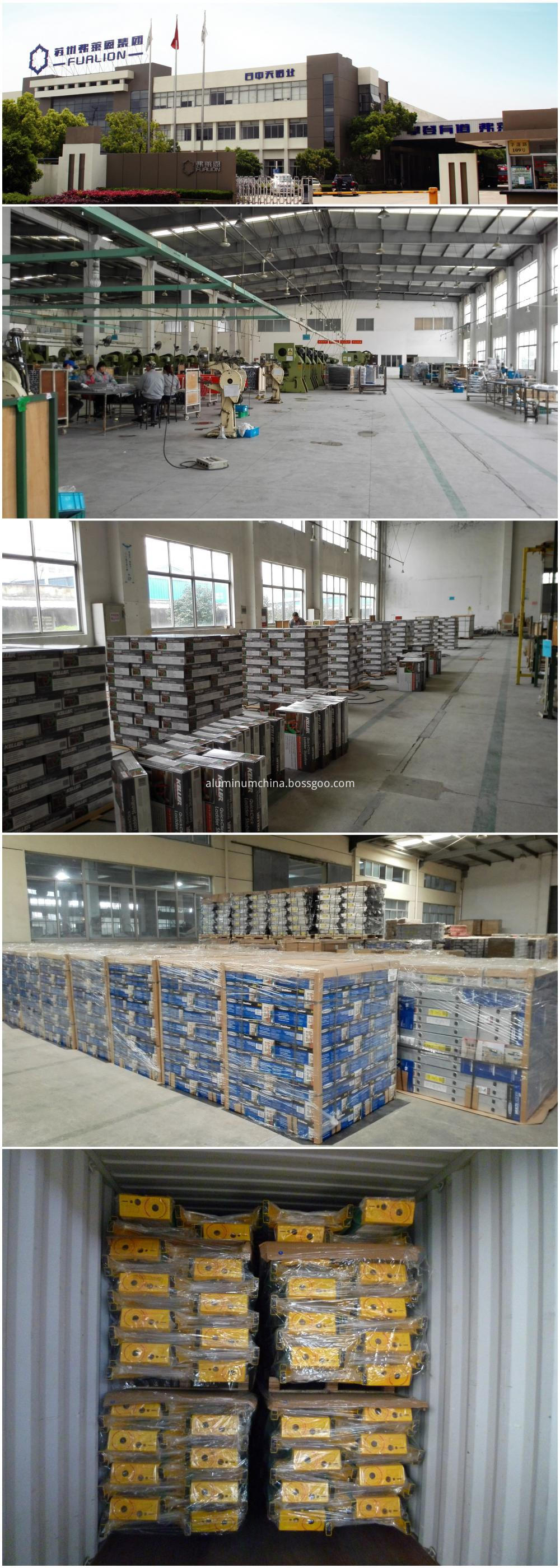Aluminum Ladder Factory