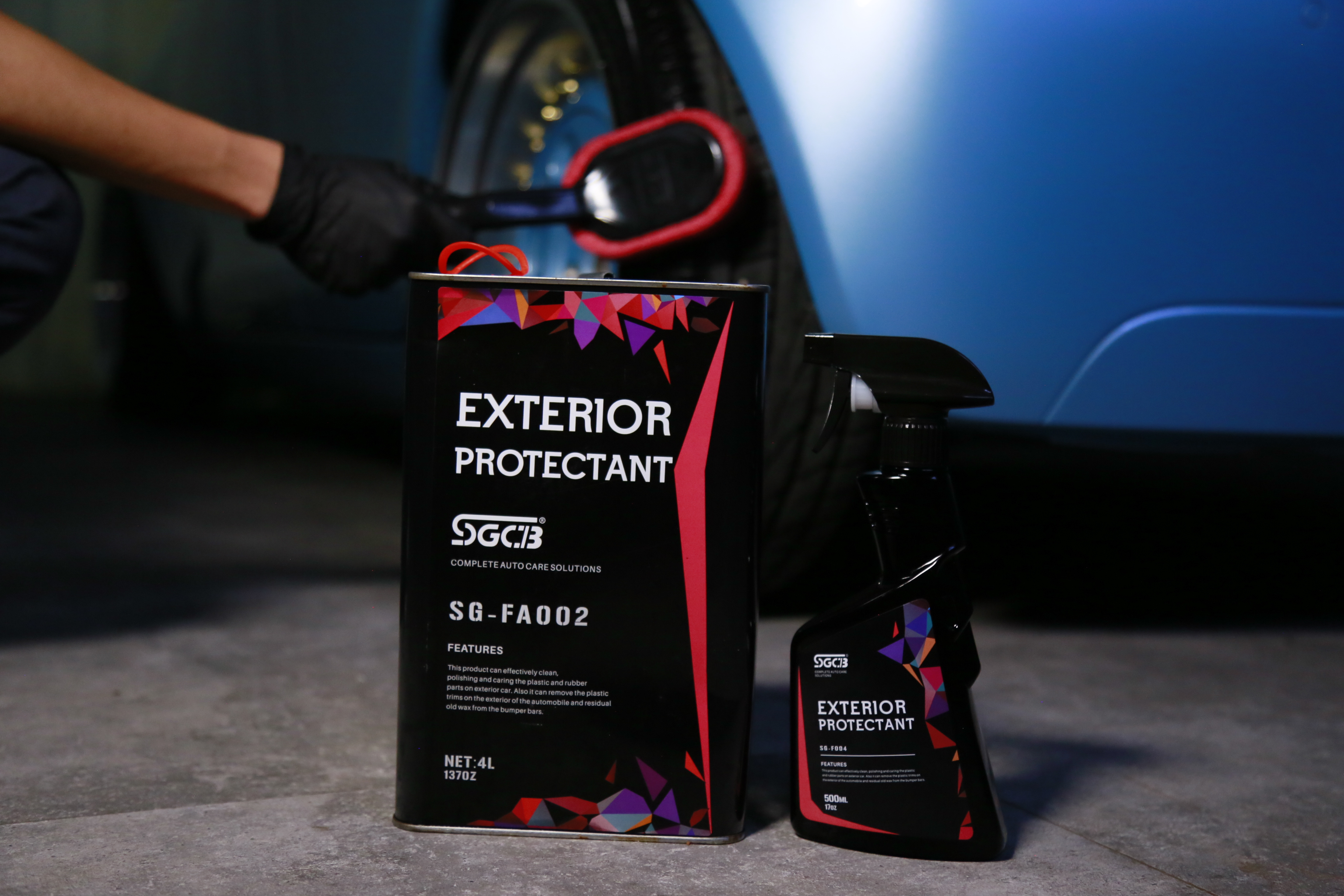 Car Exterior Rubber Protectant