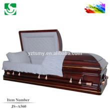 meilleurs fabricants de cercueil de Chine prix coffret bois acajou