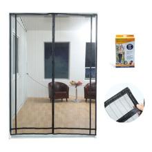 DIY Design fly screen garage door curtains