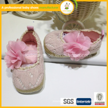 2015 best selling high quality new born pretty hand crochet baby shoes