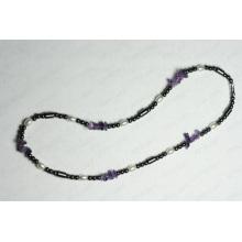 Гематит ожерелье