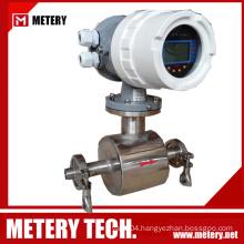 Electromagnetic milk flow meter for milk flow meter