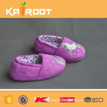 proper price decorated girls casual shoes indoor slippers