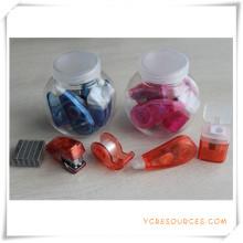 PVC-Box-Briefpapier-Set für Werbegeschenk (OI18027)