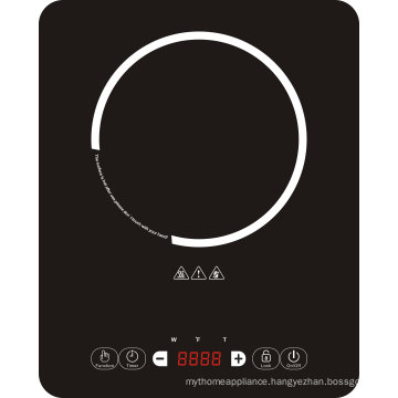 120V, 1500W Super Slim Induction Cooktop with ETL/cETL/FCC Approval Model Sm-A17