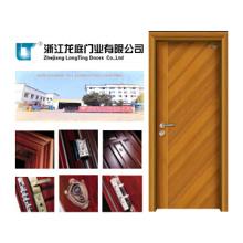 Puerta de madera maciza (LTS-109) Hecho en China
