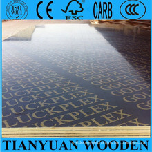 Exterior Plywood 12mm Concrete Formwork Plywood