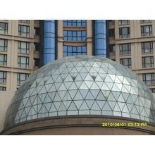 Low-E-Glas-Aluminium-Fassadensystem